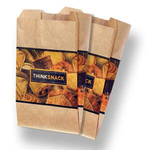 """""""Think"""" Kraft Coffee Bag"""