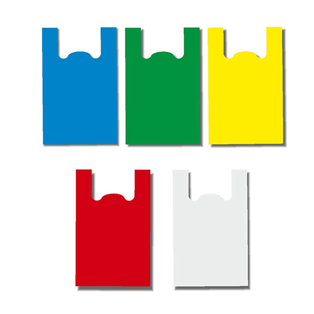 Διάφανες και Χρωματιστές Τσάντες Χαρτοπλάστ
