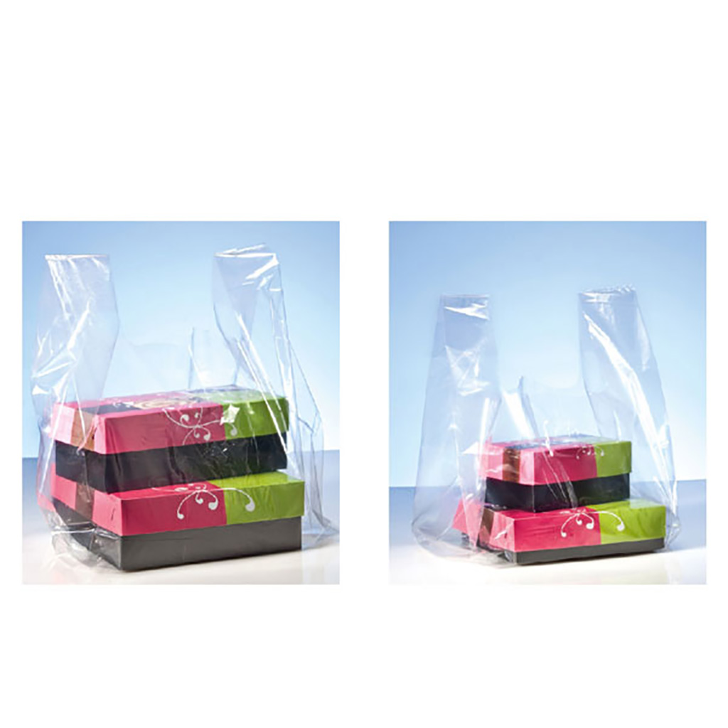 Transparent Soft Plastic Bags - 20 kg / pack.