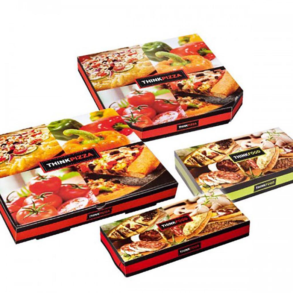 """Κουτιά Πίτσας """"Think Pizza"""""""