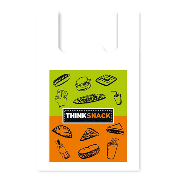 """Τσάντα Χαρτοπλάστ """"Think Snack"""""""