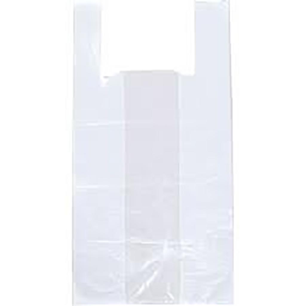 Τσάντες πλαστικές μεταφοράς Λευκές