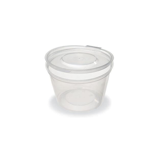 Plastic bowls for sauce