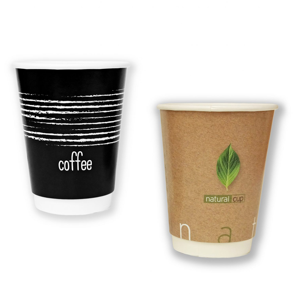 Double Wall Paper Cup 12 Oz (25 pcs / pack)