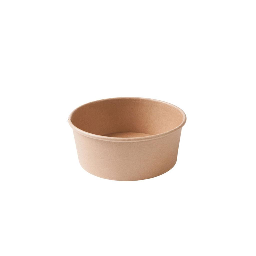 """Paper salad bowl type """"Kraft"""""""